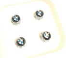 BMW Valve Stem Cap Set - Aluminum - BMW (36-12-2-447-401)