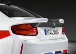 F22 2 Series, F87 M2/M2C M Performance Carbon Fiber Trunk Lid - BMW (41-62-2-460-278)