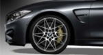 "F8x M3 & M4 Star Spoke 20"" Style 666M Wheel/Tire Set - Ferric Gray"