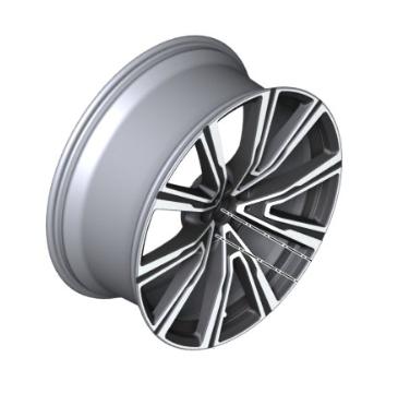 "22"" Style 746I V-Spoke Light Alloy Wheel, Orbit Grey - 10.5Jx22 ET:43 - BMW (36-11-8-072-001)"