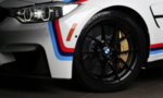 F8x M3 & M4 M Performance Matte Black 763M Wheel/Tire Set