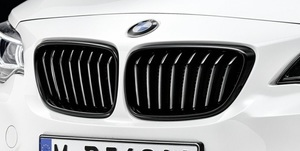 F22/23 2 Series M Performance Black Kidney Grille - Right - BMW (51-71-2-336-816)