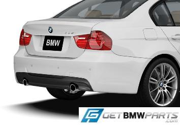 E90 LCI 3 Series M Sport Rear Aerodynamic Retrofit Kit - BMW (PKE90LCIMSPORTREAR)