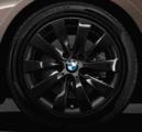 "F30/31/32/33/36 3 & 4 Series 17"" Style 413 Black Winter Wheel/Tire - 7.5x17"
