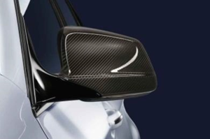F10/07 LCI, F12/13/06 LCI, F01/02 LCI M Performance Carbon Fiber Mirror Cap - Left - BMW (51-16-2-291-441)