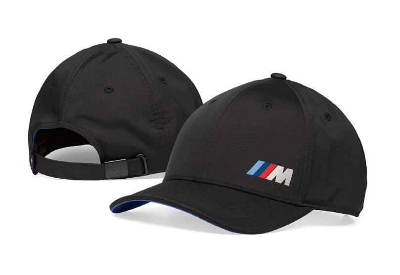 M Logo Cap - Black