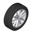 "G01 X3 18"" Style 618 Winter Wheel/Tire Assembly"