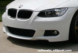 E92/93 3 Series M Sport Front Aerodynamic Retrofit Kit - BMW (PKE92MSPORTFRONT)