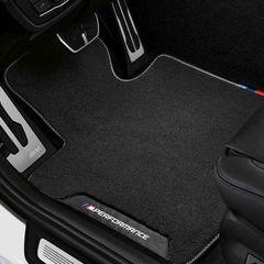 G30 5 Series, F90 M5 LCI M Performance Floor Mats Set - BMW (51-47-2-465-744)
