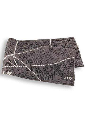 Ingolstadt, Germany Design Map Scarf - Audi (ACM-A49-9)