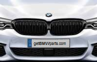 G30 5 Series M Performance Black Kidney Grille - Right - BMW (51-71-2-430-994)