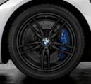 "F8x M3/M4 19"" Style 641M Black Winter Wheel/Tire - 8.5x19"