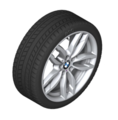 """F25 X3, F26 X4 19"""" Style 622M Ferric Gray Winter Wheel/Tire - 8.5x19"""