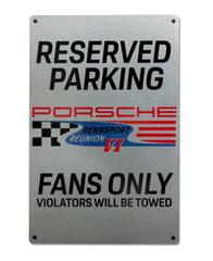 Limited Edition Rennsport Fan Parking Sign - Porsche (PNA4441216C)