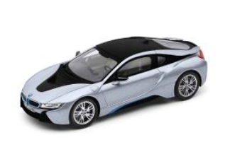 i8 - Iconic Silver - 1:43 Scale - BMW (80-42-2-336-837)