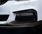 G30 M550i M Performance Gloss Black Bumper Trim - Left