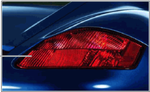 987 Boxster/Cayman (2005-2008) Red Rear Tail Light - Right - Porsche (987-044-900-22)