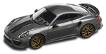 Porsche Model Car - 911 Turbo S Exclusive, Agate Grey, 1:43