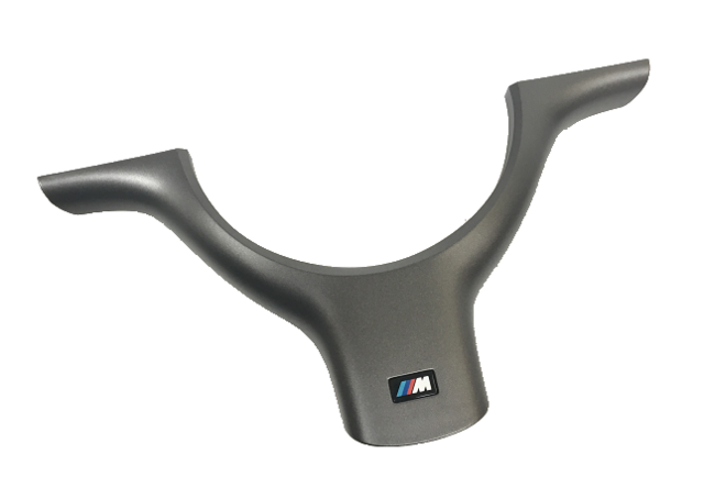E46 M3 M Steering Wheel Cover - Titan Shadow - BMW (32-34-7-833-354)