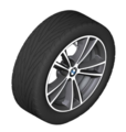 "G30 5 Series 17"" Style 631 Ferric Gray Winter Wheel/Tire - 7.5x17"