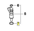 Fuel Injector 13 53 7 546 244 98-06 BMW 325Ci 325i 328Ci 525i 528i X3 Z4 Fits