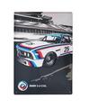 BMW Motorsport Heritage Metal Plate