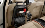 Backrest Bag - Basic Line (Black) - BMW (52-12-2-303-033)