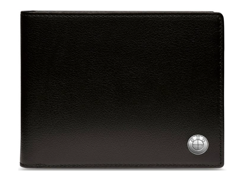 BMW Wallet without Coin Compartment - Black