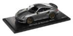 Porsche Model Car - 911 Turbo S Exclusive, Agate Grey, 1:18