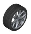 "G05 X5 19"" Style 735 Ferric Grey Winter Wheel/Tire - 9x19"