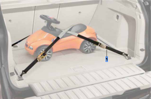 Luggage Compartment Tensioning Straps - BMW (71-10-8-045-545)