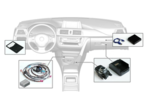 Integrated Navigation Retrofit for Entry Media Head Units (SA663) - BMW (PK65902450301)