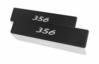 Porsche Classic Sticker Number Plate Set - 356 - Porsche (PCG-701-356-00)