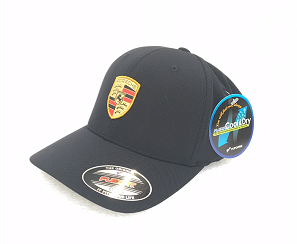 Porsche Crest Cap, Unisex - Black - Porsche (WAP-590-001-0J)
