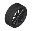 "G30 5 Series M Performance 19"" Style 786M Black Winter Wheel/Tire - 8x19"