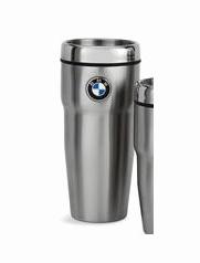 BMW Roundel Travel Mug - 16 oz - BMW (80-90-2-244-611)