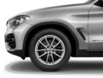 "G01 X3 G02 X4 18"" Style 618 Silver Winter Wheel/Tire - 7x18"
