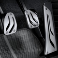 M Performance Stainless Steel Pedal Cover Set - Manual & DCT Transmissions - BMW (35-00-2-232-276)