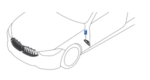 G14/15/16 8 Series Gloss Black Side Vent Trim - Right - BMW (51-13-8-080-614)