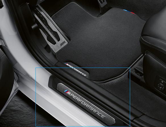 SBCX Palette de Commande dextension de Volant pour BMW///5 7 X3 X4 s/érie M5 G30 G11 G01 G02 F90 2018 2019 en Fibre de Carbone