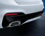 M Performance Matte Black Bumper Trim - M550iX