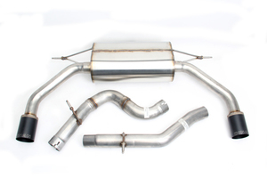 Dinan Free Flow Exhaust with Black Tips for Audi A3 2.0L (8V) - Dinan (D660-0066-BLK)