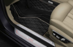 G12 7 Series Exclusive Style Leatherette Floor Mats - Set of 4