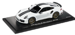 Porsche Model Car - 911 Turbo S Exclusive, Carrara White, 1:18