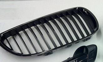 E9x M3 Edition Black Chrome Kidney Grill - Left - BMW (51-13-7-979-349)