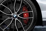 F2x 2 Series, F3x 3 & 4 Series M Performance Brake Kit - Red