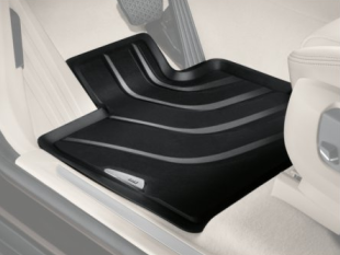 F16 X6 All Weather Rubber Floor Mats Set - Rear