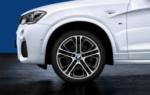"F25 X3, F26 X4 M Performance 20"" Style 310M Wheel/Tire Set"
