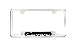 ​Brushed Stainless Steel License Plate Frame - GTS - Porsche (PNA-704-012-05)
