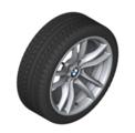 """F87 M2 18"""" Style 640M Silver Winter Wheel/Tire - 8.5x18"""